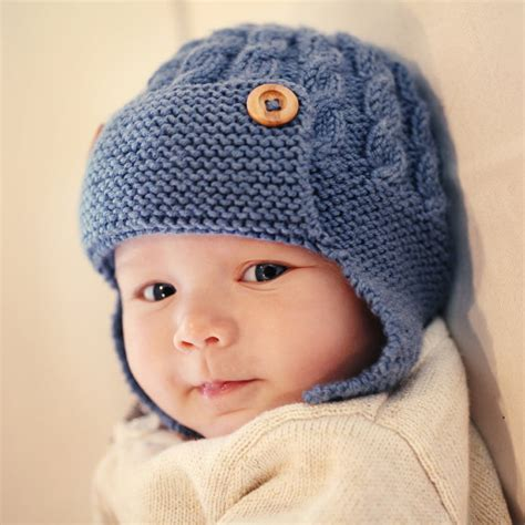 knitting pattern youth hat cabled baby aviator hat knitting pattern dayton by