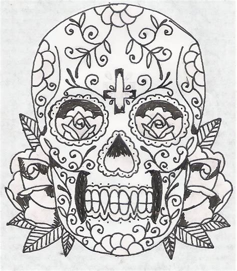 day of the dead sugar skull tattoo designs gallery mexican day of the dead skull