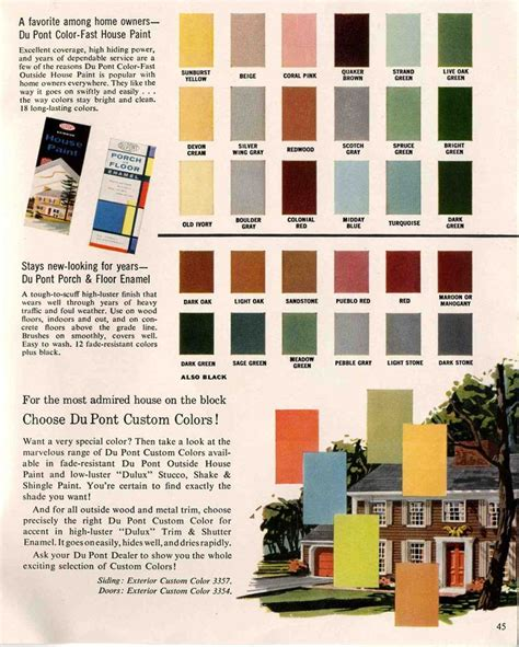 colors for houses exterior colors for 1960 houses room color schemes