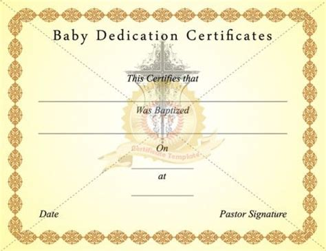 1000 images about templetes for church on pinterest 1000 images about baptism certificate template on