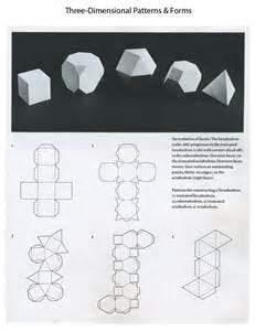 3d paper template 3d forms templates mrs briggs website