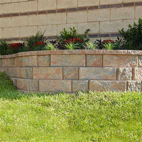 pavestone rockwall small         palomino