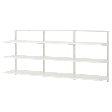Algot Wall Upright Shelves White 190x41x87 Cm Ikea Ikea Algot Shelves