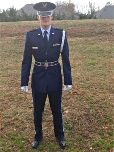 air force rotc service dress uniform and on thursdays we wear camo auburn family