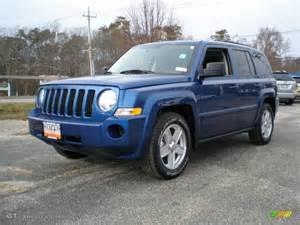 Blue Jeep Patriot 2010 Water Blue Pearl Jeep Patriot Sport 4x4
