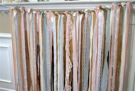 fabric strip curtains fabric garland backdrop 183 how to make a garland 183 home