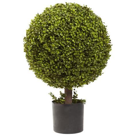 boxwood topiary decor ball 6 inches 3302400 new raz home nearly natural 5919 boxwood ball topiary 27 inch green