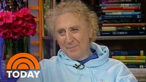 gene wilder today gene wilder talks memoir love acting in 2005 interview