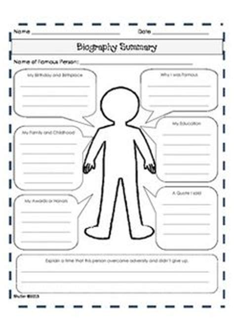 biography writing for primary students history museum curriculum and ideas on pinterest