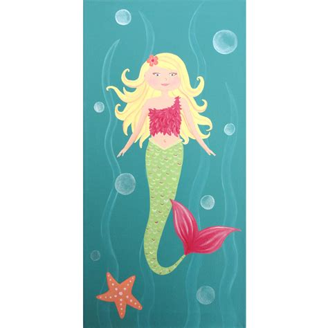 painting for barbies wall nursery for baby children wall by