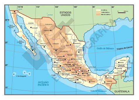 cadenas orograficas principales de mexico mapa de m 233 xico