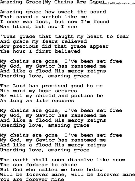 words to my most popular church hymns and songs amazing grace my