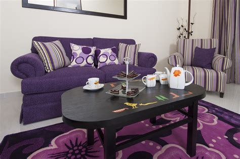 living room accessories purple design with purple