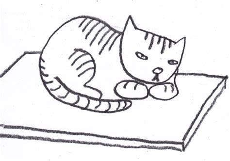 cat on a mat clipart clipart suggest