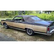 1978 Lincoln Town Car Convertible  Built By Silco In