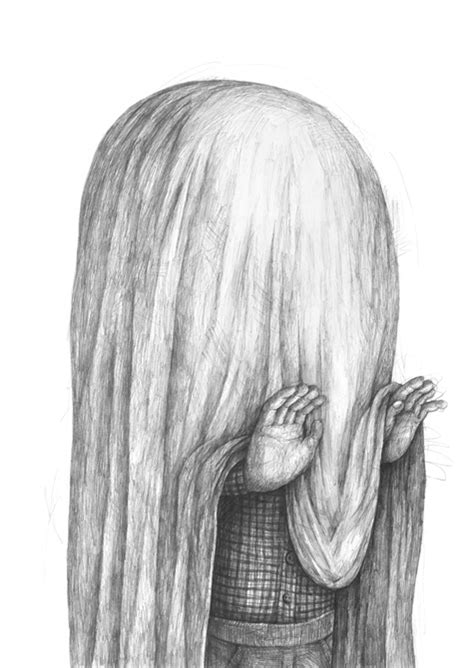 Desenhos surreais de Stefan Zsaitsits - BLCKDMNDS