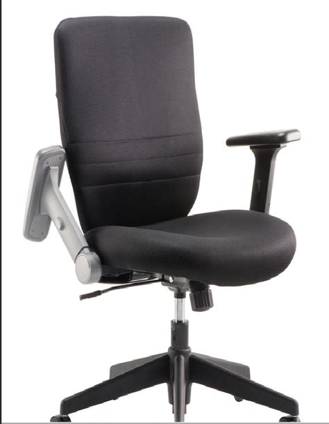 desk chair with folding arms tempest office chair with folding arms