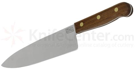 chicago cutlery kitchen knives chicago cutlery walnut traditions 8 quot chef s knife knifecenter c42sp