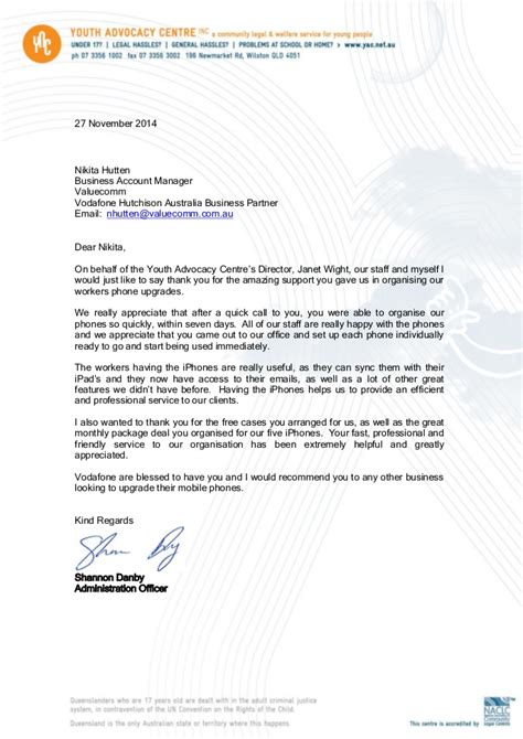 thanking letter for business partnership thank you letter 2014