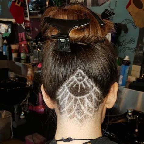stagled athe the nape of neck hair style 66 shaved hairstyles for women that turn heads everywhere