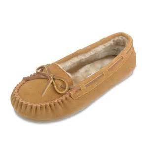 Moccasins Minnetonka Womens Cally Slippers Cinnamon Womens