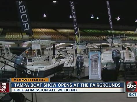 boat show florida fairgrounds home abcactionnews ta bay news weather sports