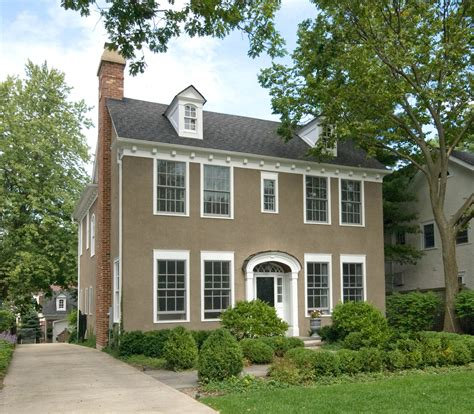 what is a colonial style house colonial style house in winnetka 1 479m chicago tribune