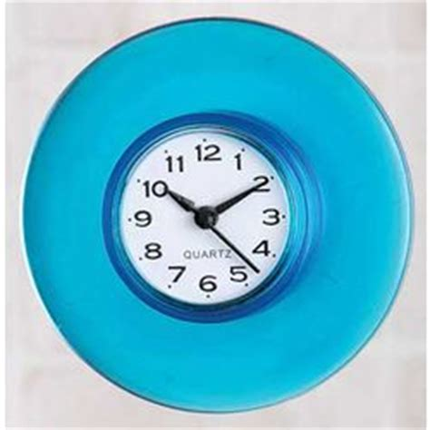 bathroom suction clock suction cup bath clock findgift com