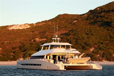 catamaran expedition yacht luxury expedition catamaran open ocean launched yacht