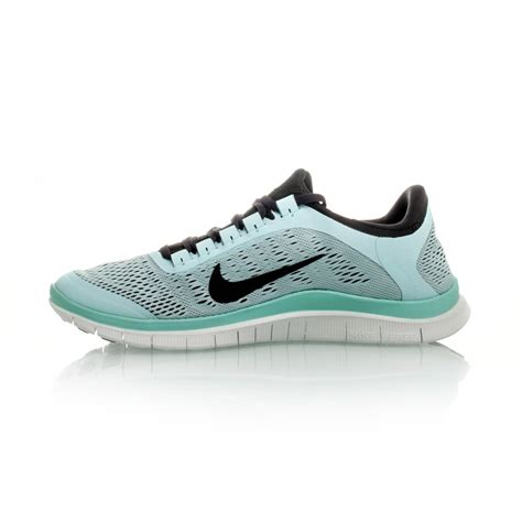 shop nike womens running shoes nike free 3 0 v5 womens running shoes teal charcoal