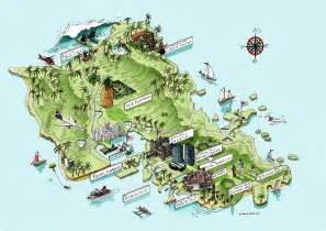 tourist map collection