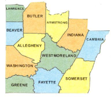 map of southwest pennsylvania wp daily prompt helping a handwritten letter