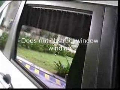 curtains for cars windows car sunshade curtain youtube