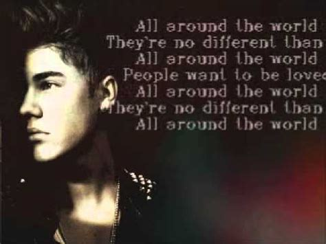 all around the world 1854379763 all around the world lyrics justin bieber ft ludacris youtube