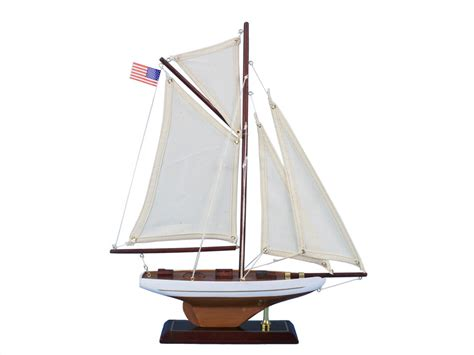 Sailboat Models For Decoration buy wooden columbia model sailboat decoration 16 inch