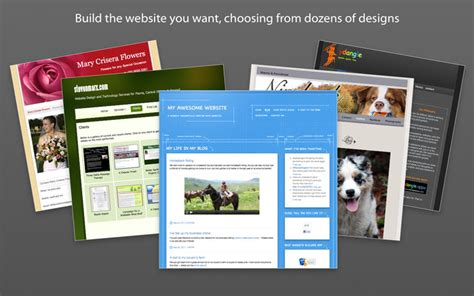 Sandvox 2 10 6 Easily Build Eye Catching Web Sites Macos Apps Mac Games Appked Sandvox Pro Templates