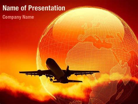 Air Flight Powerpoint Templates Air Flight Powerpoint Air Powerpoint Template