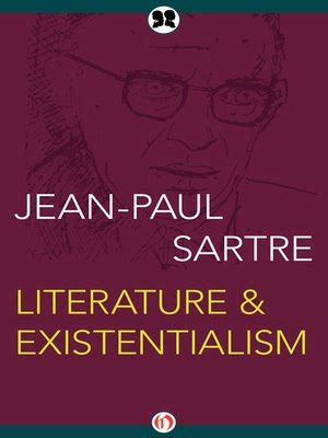 Jean Paul Sartre Existentialism Essay Summary by Jean Paul Sartre 183 Overdrive Ebooks Audiobooks And For Libraries