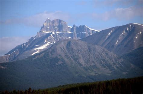 tails from the highway banff canada 16 mount hector morning from trans canada highway just