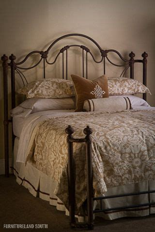 wesley allen inc marlowe metal bed beds and bedding