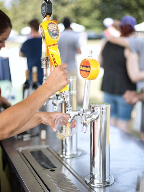 keg draft beer tap portable bar kegerator rental