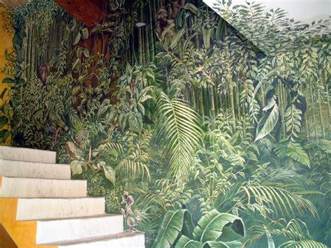 Ambiance Jungle Tropicale by Jungle Fresques En Trompe L Oeil Peinture Murale