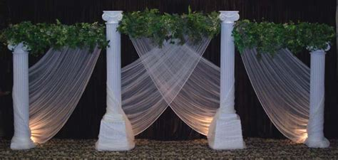 wedding backdrop ideas with columns wedding backdrops backgrounds decorations columns