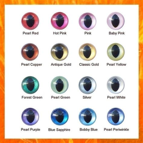 20 of the best colors to pair with blue 5 pairs 9mm painted pearltallic plastic cat