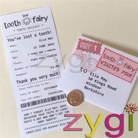 tooth receipt template editable tooth receipt kit