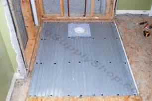 clearpath curbless shower pan system complete floor kit