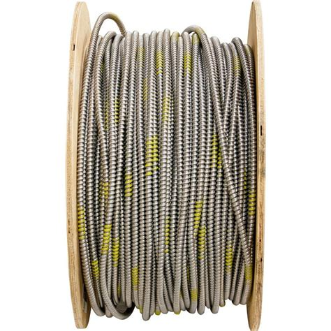 10 2 mc cable 1000 ft 8 armored cable wire the home depot
