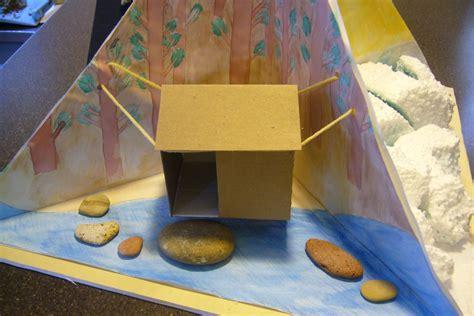 for to make at school s creativity school project 4 quadrant diorama