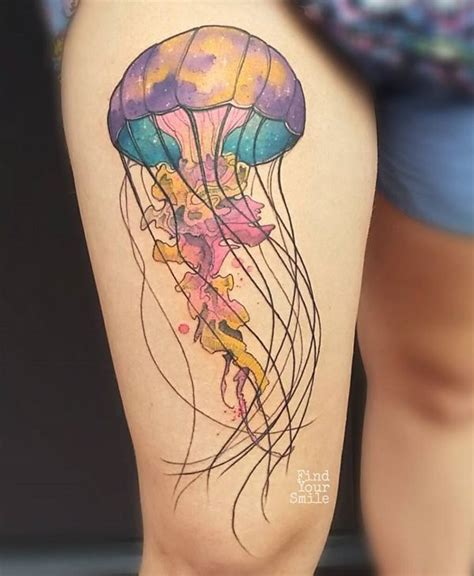 jellyfish tattoo design the 25 best jellyfish ideas on