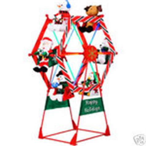 7 ft animated ferris wheel outdoor christmas huge new 12